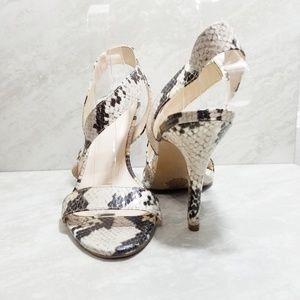 Nine West Snakeskin Sandals
